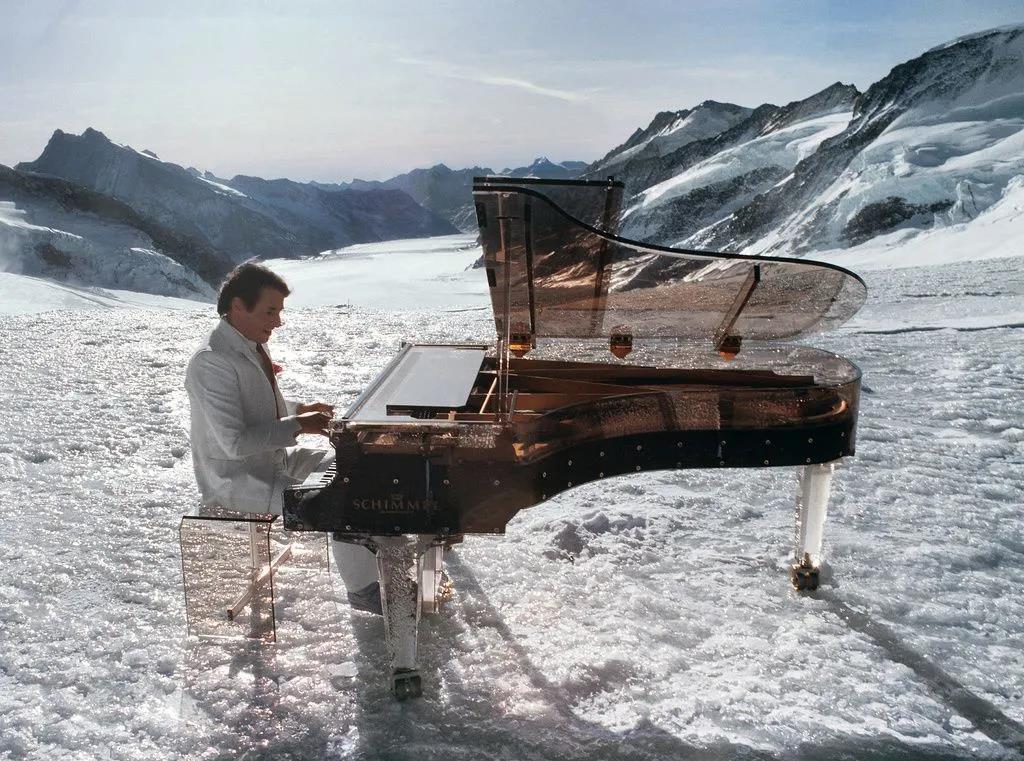 雪峰上的《梦幻舞者》